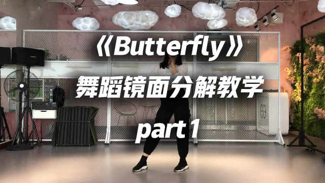 本月少女《Butterfly》舞蹈教学p1