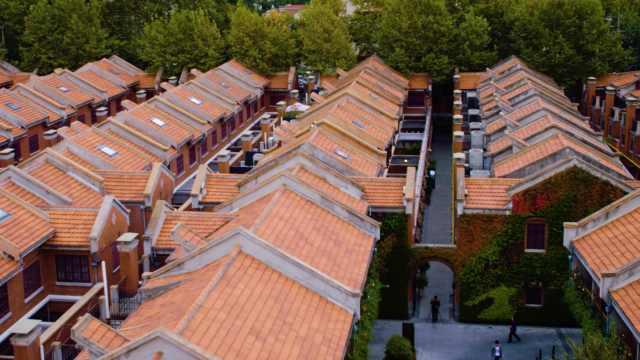 上海历史老建筑:重逢建业里