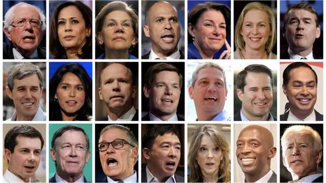 美国2020年大选参选人数达40年最高