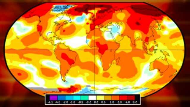 今年4月史上第二热,CO2再破纪录