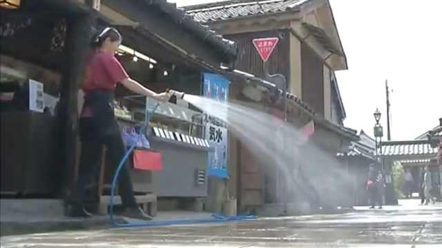 日本气温直逼30度, 一周中暑516人