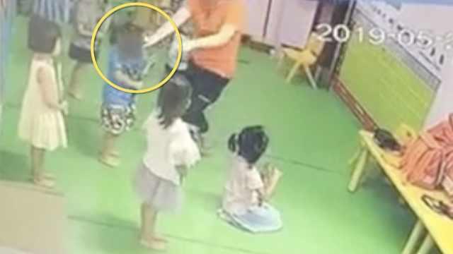 5岁女童遭幼师拽伤耳朵,缝了6针