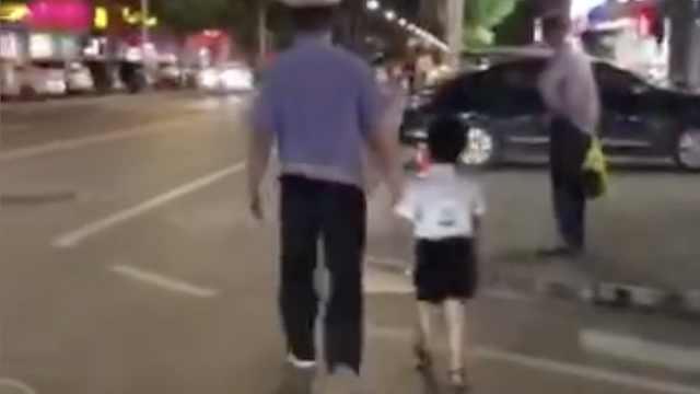 男子酒驾遇查,竟抛下儿子撒腿就跑