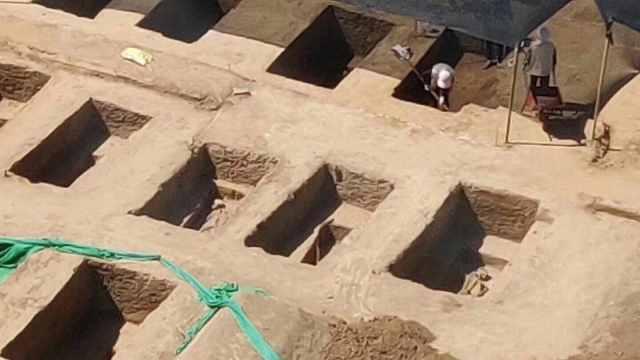 清华大学喜提古墓!