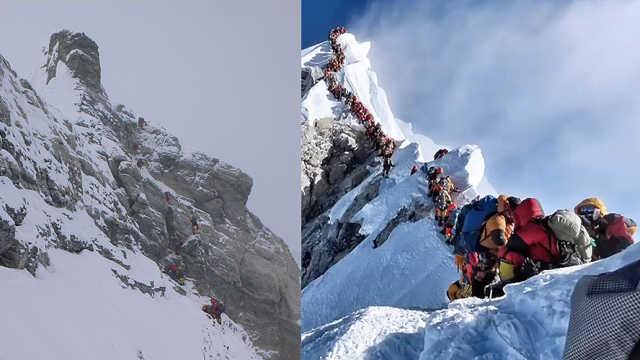登珠峰已变成产业,以后会更加拥堵