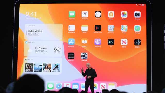 WWDC19:光荣独立!欢迎 iPad OS