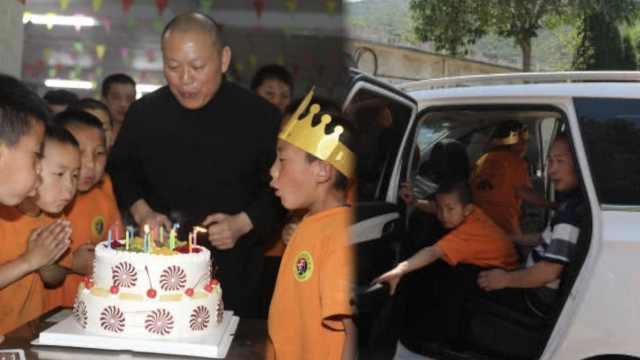 武校孤儿7岁生日想回家,校长帮圆梦