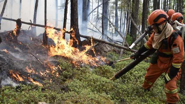 大兴安岭1日3火灾,260消防进山扑救