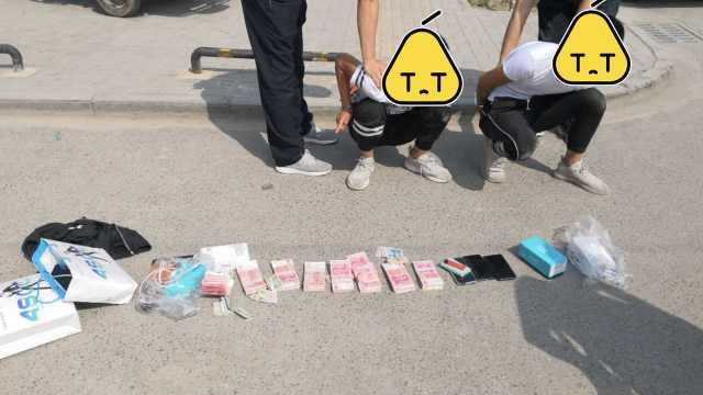 4贼偷车后盗20万,被抓时揣成捆现金
