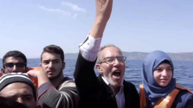 英国记者卧底叙利亚难民偷渡至欧洲