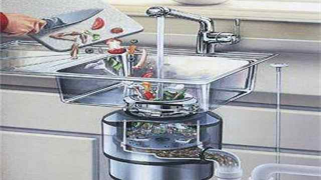 科普视频:厨余垃圾处理器如何运作