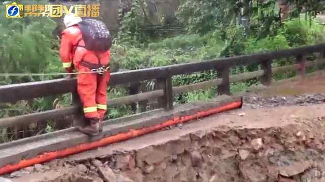 福建消防全力开展抗洪抢险救灾工作