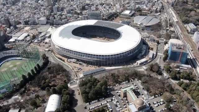 效率!东京奥运半数场馆提前竣工