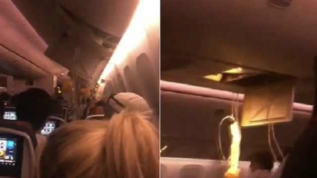 加拿大一航班遇强大气流,37人受伤