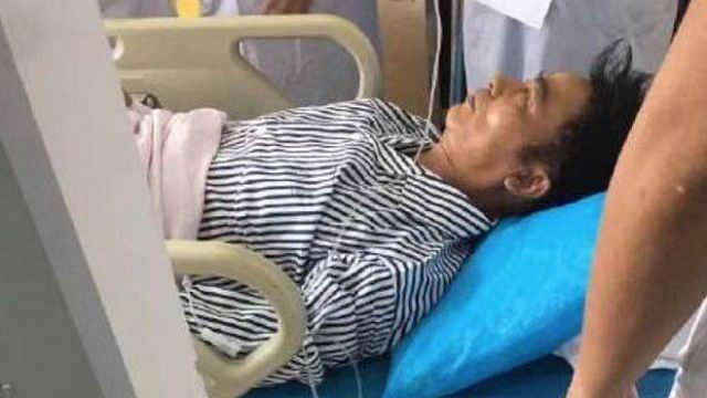 粉丝医院探望任达华:特别心疼他