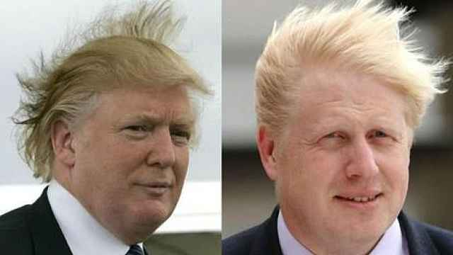 鲍里斯特朗普的相似之处:不止头发