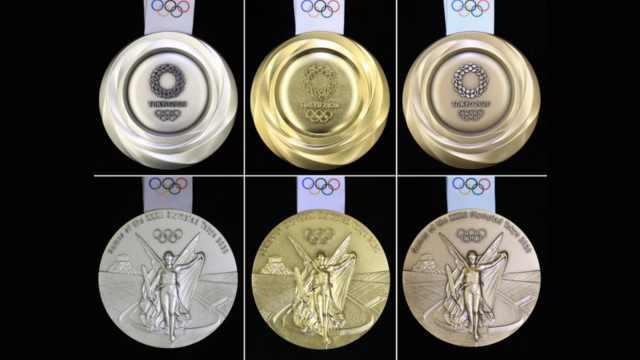 奥运会倒计时一周年,奖牌设计揭晓