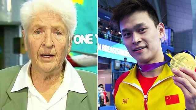 82歲澳泳壇傳奇炮轟孫楊:我會踢他