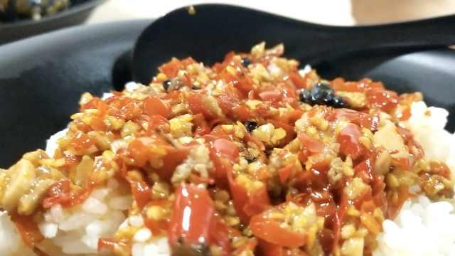 剁椒拌米饭吃过吗?吃辣只服湖南人