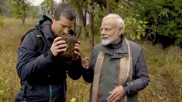 印度总理参加荒野求生,遭国民怒骂