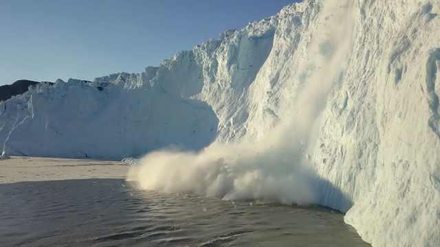 研究:格陵兰岛冰盖消融率或创新高