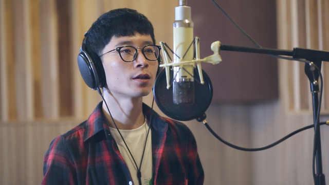 录音棚翻唱林俊杰《一千年以后》