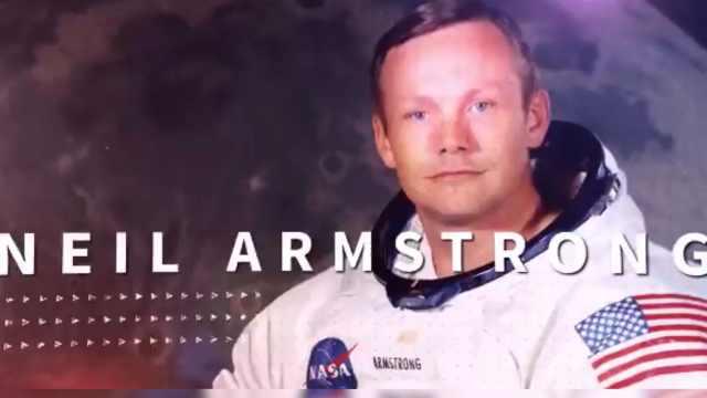 NASA发布纪念阿姆斯特朗诞辰视频