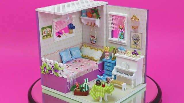 DIY清新陽光的少女臥室