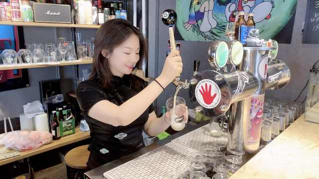 美女从上市公司辞职,专做精酿啤酒