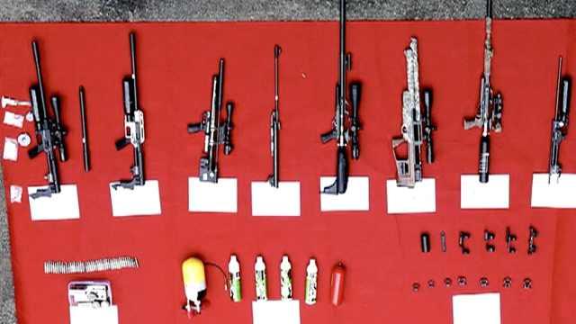 代购枪支!重庆警方跨国侦办贩枪案