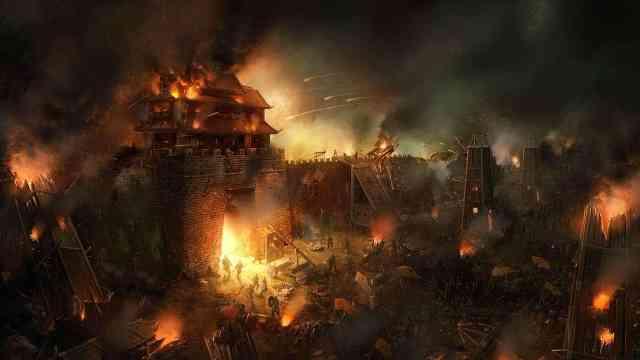 古代打仗的时候为什么不绕过城池呢