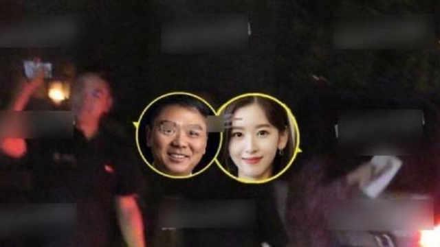 刘强东奶茶妹妹风波后合体?