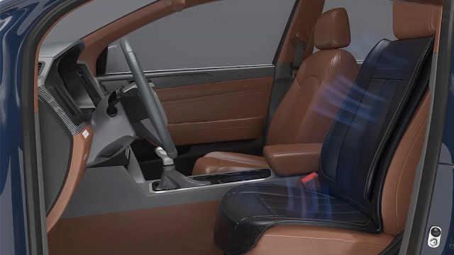 夏天车内的避暑装置:通风座椅