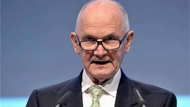 前大众集团主席皮耶希去世,享年82