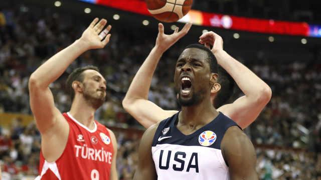 惊险!美国队加时1分击败土耳其