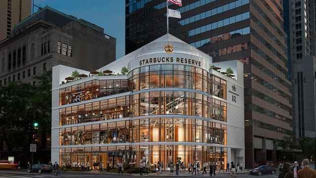 全球最大星巴克将开业,位于芝加哥