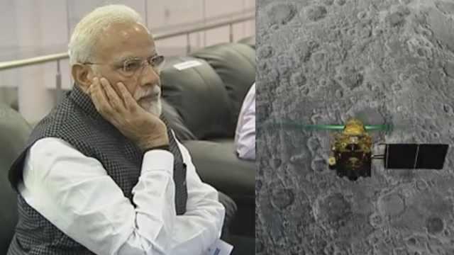 印度登月失败:离月表2.1公里失联