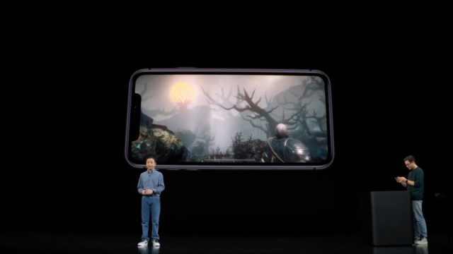 中国游戏团队首次登上苹果发布会