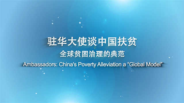 驻华大使赞中国扶贫