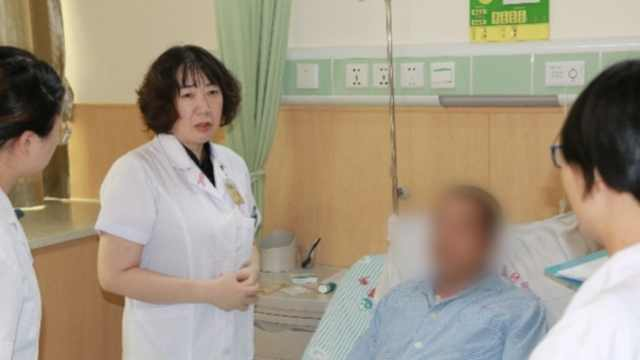 5旬大叔胸部长疙瘩,被确诊为乳腺癌