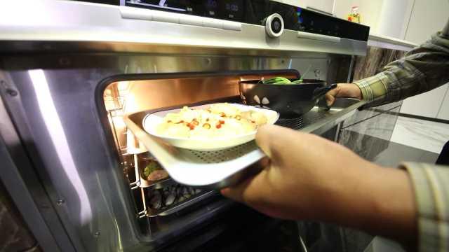 用集成灶1小时做9道菜,你信不信