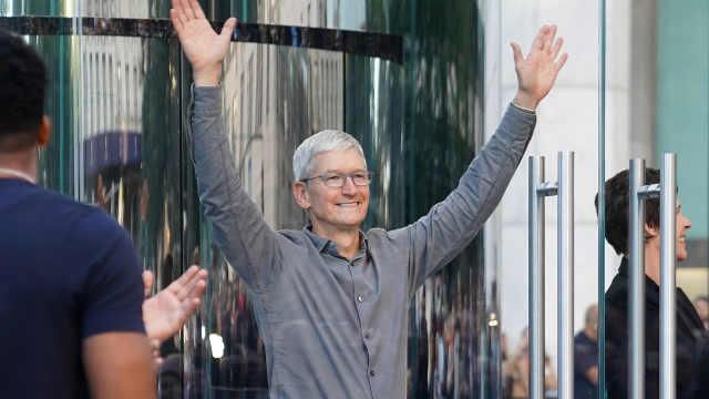 库克笑了!苹果免关税申请获批准