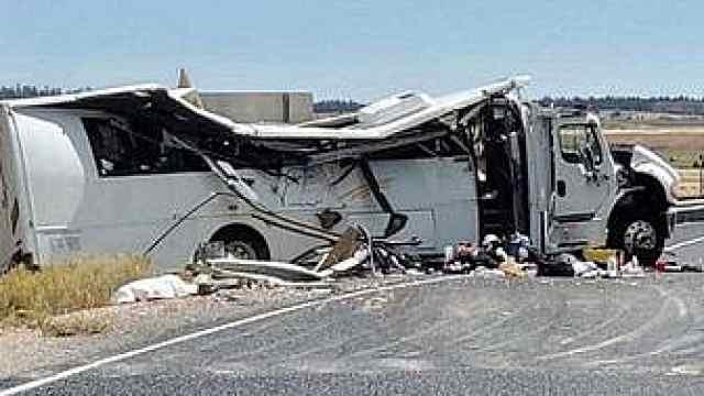 旅行团巴士在美车祸死者均来自上海