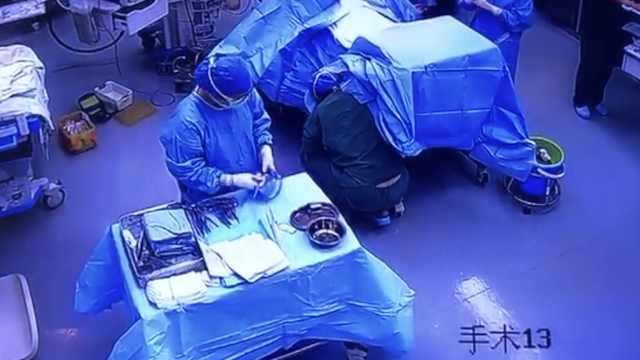 产妇脐带脱垂,助产托半小时救胎儿