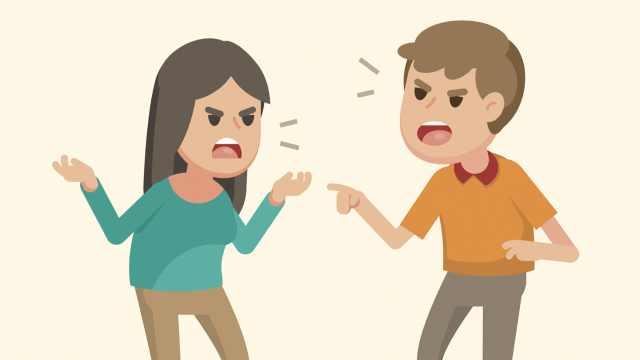 体面呢?情侣分手争执,打得头破血流