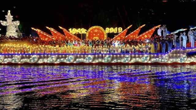扬州古运河上演运河城市古今传奇