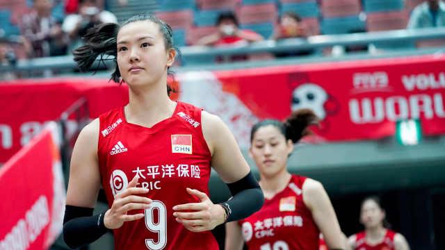 全胜夺冠!中国女排统治表现全记录