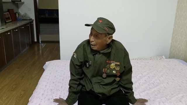 105岁老兵着戎装反复看阅兵:带劲儿