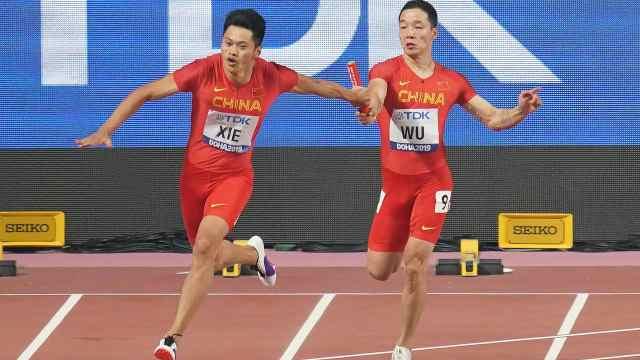 祝賀!男女隊同晉級百米接力決賽