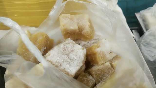 塔河降至-14℃,又到吃冻豆腐季节